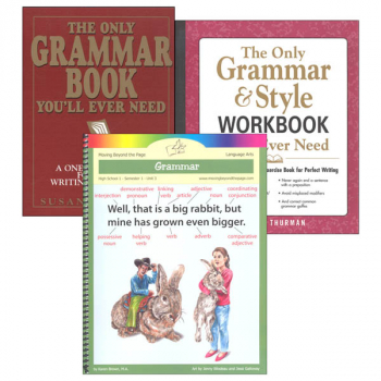 High School 1 Grammar Part 1 Literature Unit Package