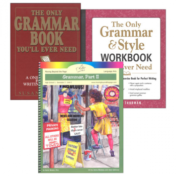 High School Grammar Part 2 Literature Unit Package