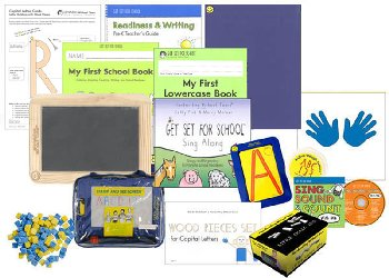 Handwriting Without Tears Pre-K Readiness & Writing Basic Kit