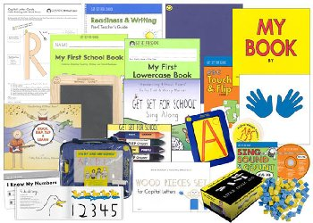 Handwriting Without Tears Pre-K Readiness & Writing Deluxe Kit