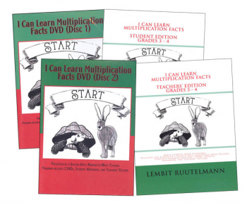 I Can Learn Multiplication Facts Package