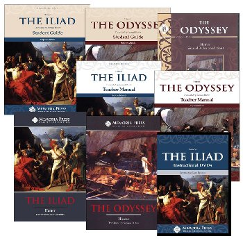 Iliad and the Odyssey Set