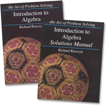 Art of Problem Solving Introduction to Algebra Set