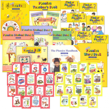 Jolly Phonics Starter Kit Extended w/Student/Teacher Books