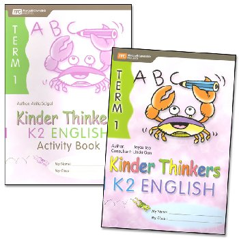 Kinder Thinkers English Kindergarten 2 Set