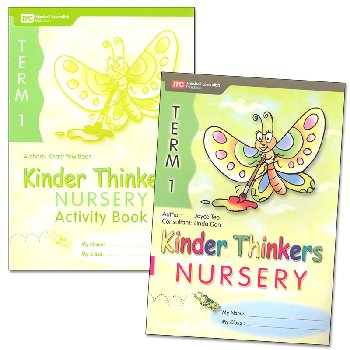 Kinder Thinkers English Nursery Term 1 Set