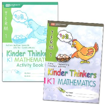 Kinder Thinkers K1 Mathematics Term 1 Set