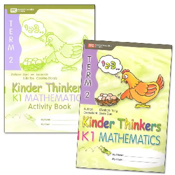 Kinder Thinkers K1 Mathematics Term 2 Set