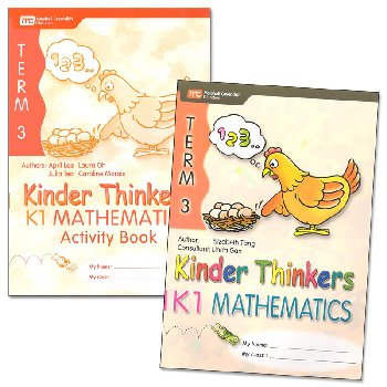 Kinder Thinkers K1 Mathematics Term 3 Set