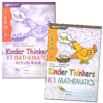 Kinder Thinkers K1 Mathematics Term 4 Set