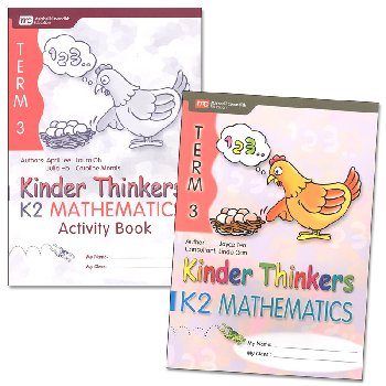Kinder Thinkers K2 Mathematics Term 3 Set