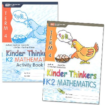 Kinder Thinkers K2 Mathematics Term 4 Set
