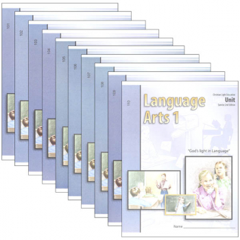 Language Arts LightUnit 101-110 Set Sunrise 2nd Edition