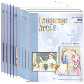 Language Arts LightUnit 301-310 Set Sunrise 2nd Edition