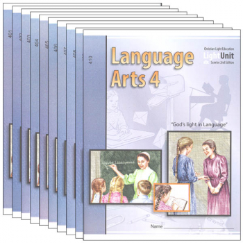 Language Arts LightUnit 401-410 Set Sunrise 2nd Edition