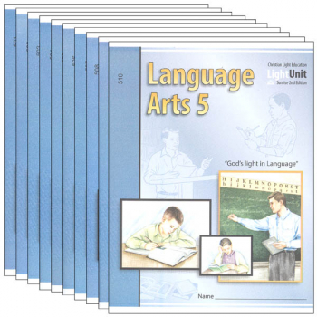 Language Arts LightUnit 501-510 Set Sunrise 2nd Edition