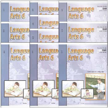 Language Arts LightUnit 601-610 Set Sunrise 2nd Edition