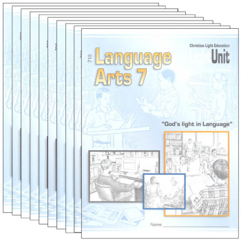 Language Arts LightUnit 701-710 Set Sunrise Edition