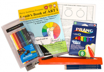 Lamb's Book of Art Book 1 with Art Supplies