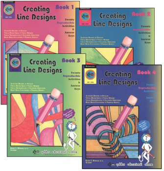 Creating Line Designs Complete 4 Book Set