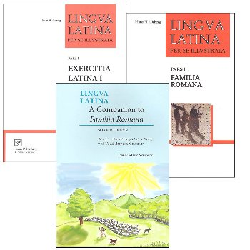 Lingua Latina Set I Package with College Companion