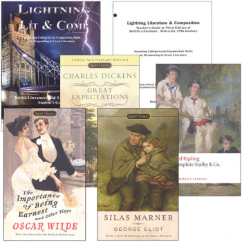 Lightning Literature & Composition British Mid to Late 19th Century Package