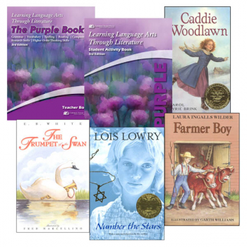 Learning Language Arts Through Literature Complete Package Purple