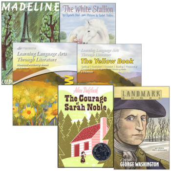 Learning Language Arts Through Literature Complete Package Yellow