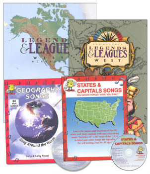 Legends & Leagues West Set