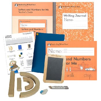 Letters & Numbers for Me Books and Manipulative Pack 2