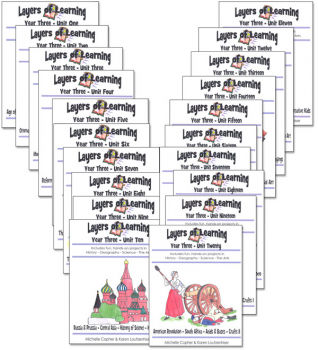 Layers of Learning Complete Set Year 3 Units