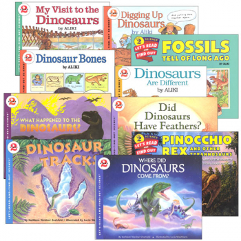 Let's Read and Find Out Science Level 2 - Dinosaur Package
