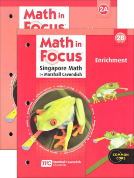 Math in Focus Grade 2 Enrichment A and B Set
