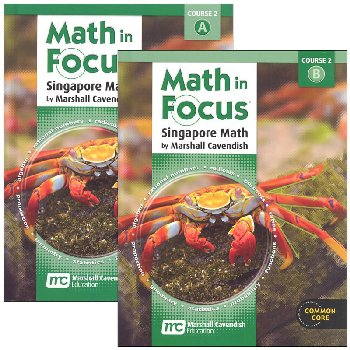 Math in Focus Course 2 Gr 7 Student Book A&B