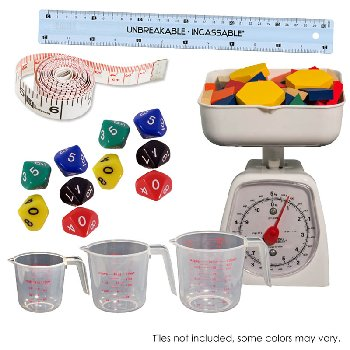 Math in Focus Manipulative Add-On Kit Bridging Grade 1-2
