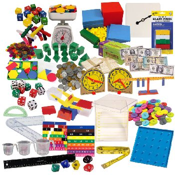 Math in Focus Complete Manipulative Kit - Grades K-5