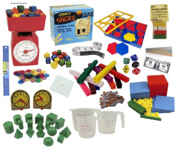 Math in Focus Manipulative Kit Grade 2