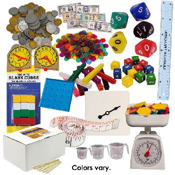 Math in Focus Manipulative Kit Grade 3