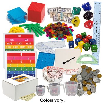 Math in Focus Manipulative Kit Grade 4