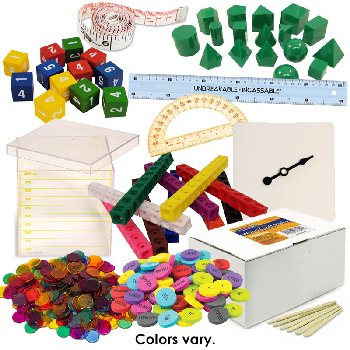 Math in Focus Manipulative Kit Grade 5