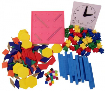Kindergarten Basic Math Manipulative Kit
