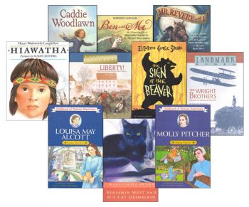 Memoria Press 4th Grade American/Modern Studies Supplemental Reading Sets