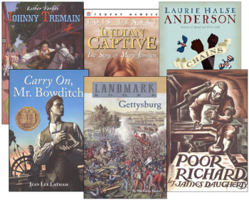 Memoria Press 6th Grade American/Modern Studies Supplemental Reading Sets