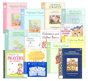 Memoria Press Curriculum Jr. Kindergarten Package