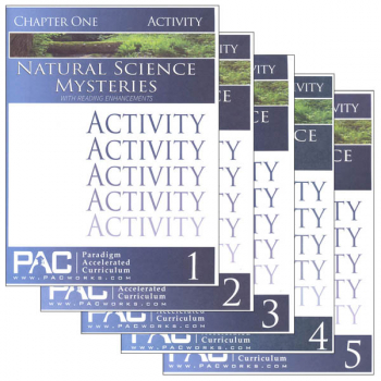 Natural Science Mysteries Activities Package (Chapters 1-5)