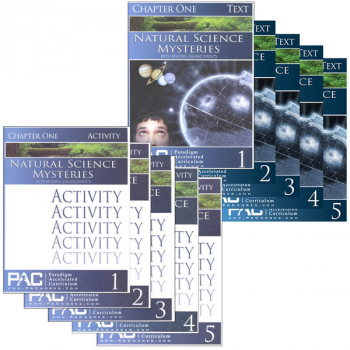 Natural Science Mysteries Text & Activities Package (Chapters 1-5)