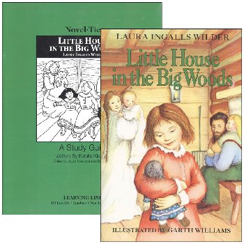 Little House in the Big Woods Novel-Ties Study Guide & Book Set