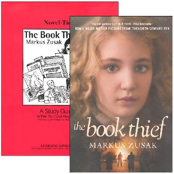 Book Thief Novel-Ties Study Guide & Book Set