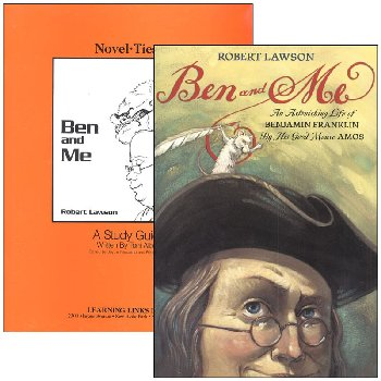 Ben and Me Novel-Ties Study Guide & Book Set