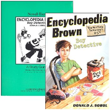 Encyclopedia Brown: Boy Detective Novel-Ties Study Guide & Book Set